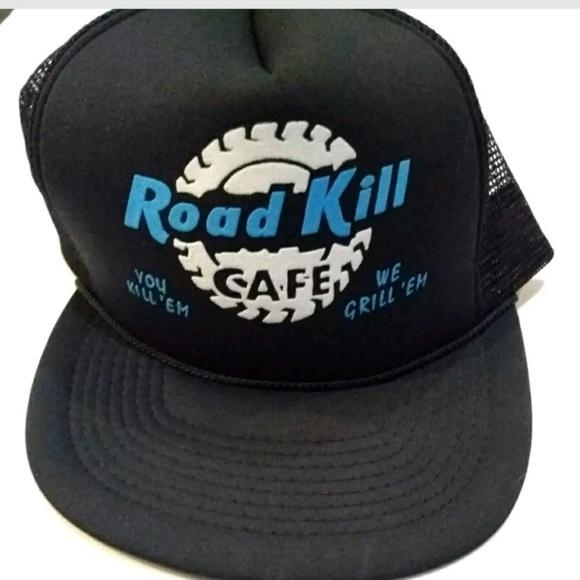 Other - 💜Road Kill Cafe You Kill Em We Grille Em Hat
